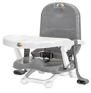 Cadeira De Alimentação Portátil Papinha Cinza - Tutti Baby
