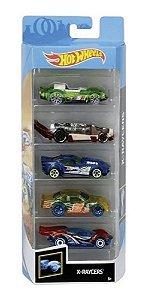 Conjunto de Carros X Raycers (+3 anos) - Hot Wheels - Mattel