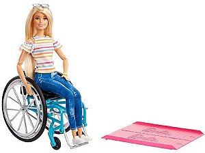 Barbie Fashionista Na Cadeira De Rodas - Mattel