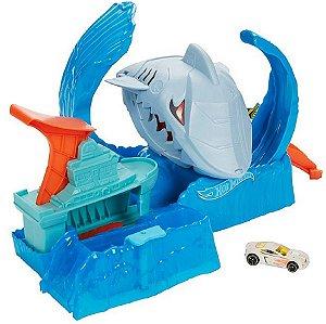 Robô Tubarão Hot Wheels - Mattel