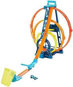 Pista Looping Triplo Hot Wheels - Mattel