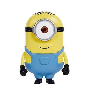 Boneco Minions Stuart Filme Tamanho Pequeno - Mattel