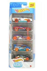 Conjunto de Carros Track Builder (+3 anos) - Hot Wheels - Mattel
