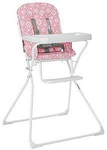 Cadeira De Refeição Bambini Rosa - Tutti Baby