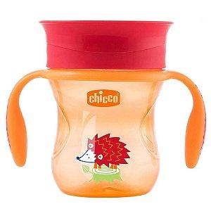 Copo Perfect Cup (+12M) - Porco Espinho Laranja - Chicco