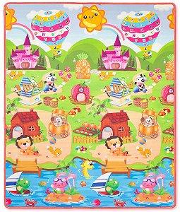 Tapetes De Atividades Fazendinha Girafinha - Comtac Kids