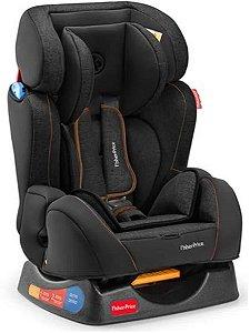 Cadeira Para Auto Hug Preta (Até 25 Kg) - Fisher Price