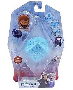 Mini-Figura Colecionável Cristal Mágico - Anna - Frozen - Toyng