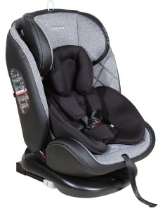 Cadeira Para Auto Gaia Isofix Cinza (0 à 36 kg) - Galzerano