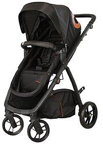 Carrinho de Bebê Maly Preto (Até 15 Kg) - Dzieco