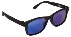 Óculos de Sol Baby com Armação Flexível (+3M) - Preto - Buba
