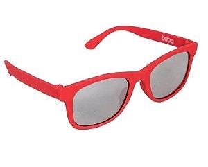 Óculos de Sol Baby com Armação Flexível (+3M) - Vermelho - Buba