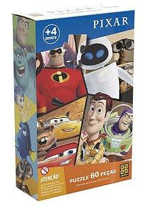 Quebra Cabeça Pixar - 60 Peças - Grow