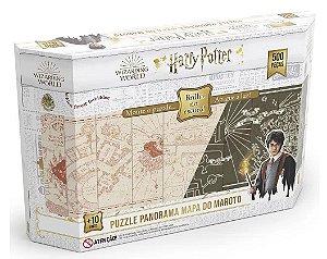 Quebra-Cabeça 500 Peças (+10 anos) - Mapa do Maroto - Harry Potter - Grow