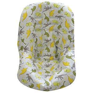 Capa de Bebê Conforto de Malha - Dino - Minha Casa Baby