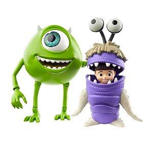 Bonecos Articuláveis (+3 anos) - Mike Wazowski e Boo - Monstros S.A. - Mattel
