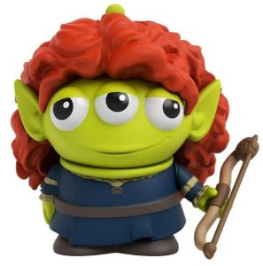 Mini-Figura - Alien Merida - Toy Story - Disney - Mattel