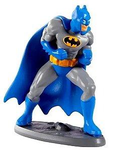 Mini Figura DC Liga Da Justiça Batman Roupa Azul - Mattel