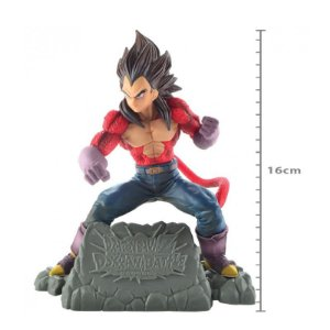 Figure Dragon Ball GT-Vegeta Super Sayajin-Diorama-Bandai