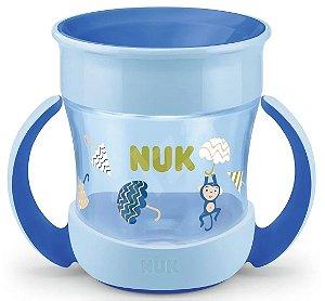 Copo Magic Cup Evolution 360° 160ml (+8M) - Azul - NUK