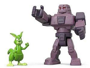 Brinquedo Imaginext (+3 anos) - Cinderblock e Mutano - Jovens Titans - DC Comics - Mattel