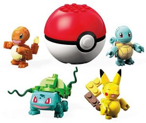 Blocos de Montar (+3 anos) - Amigos de Kanto - Pokémon - Mattel
