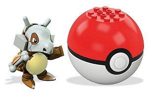 Blocos de Montar (+3 anos) - Mega Construx Cubone - Pokémon - Mattel