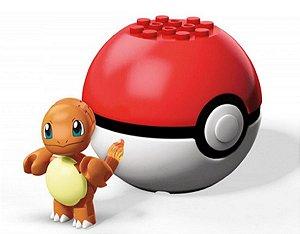 Blocos de Montar (+3 anos) - Mega Construx Charmander - Pokémon - Mattel