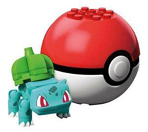 Blocos de Montar (+3 anos) - Mega Construx Bulbasaur - Pokémon - Mattel