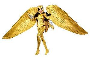 Boneca de Ação - Mulher Maravilha - Armadura Dourada - Mattel