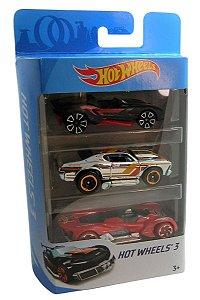 Conjunto 3 Carros Hot Wheels 6 - Mattel