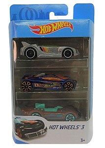 Conjunto 3 Carros Hot Wheels 5 - Mattel