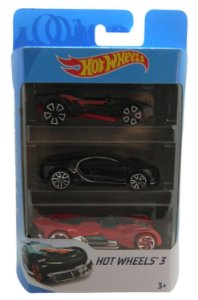 Conjunto 3 Carros Hot Wheels 1 - Mattel