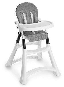 Cadeira De Refeição Alta Premium Grafite - Galzerano