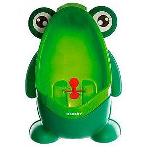 Mictório Stand Up Sapinho (+18M) - Verde - Kababy
