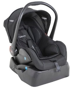 Bebê Conforto Casulo Click p/ Carrinho Galaxy c/ Base Kiddo