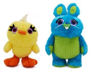 Pelúcias Coelho E Pato Toy Story 4 - Toyng