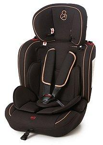 Cadeira Para Auto Ravi Preto Caramelo - Galzerano