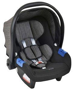 Bebê Conforto Touring X Mesclado Preto (Até 13 Kg) Burigotto