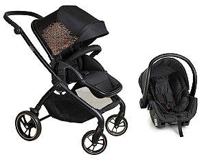 Carrinho de Bebê Travel System Rovy (até 15 kg) - Preto - Dzieco