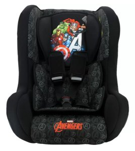 Cadeira para Auto Trio Avengers 0, 1, 2 (0 à 25kg) Marvel