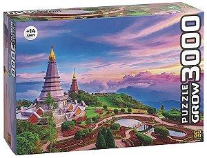 Quebra Cabeça Tailândia 3000 Peças - Grow