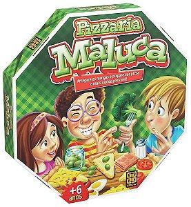 Jogo Pizzaria Maluca (+6 anos) - Grow