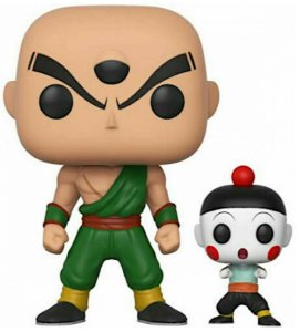 Action Figure - Chiaotzu e Tien - Dragon Ball Z - Pop! Funko