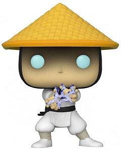 Action Figure - Raiden - Mortal Kombat - Pop! Funko