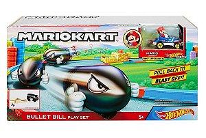 Lançador de Veículos do Mario Kart (+5 anos) - Hot Wheels - Mattel