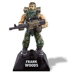 Boneco Call Of Duty Frank Woods Mega Construx - Mattel