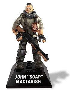 Boneco de Ação Mega Construx - John Soap - Call Of Duty - Mattel