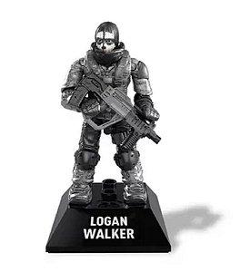 Boneco de Ação Mega Construx - Logan Walker - Call Of Duty - Mattel