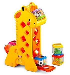 Blocos de Encaixar de Girafa (+6M) - Fisher Price